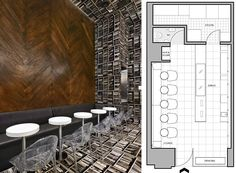 small cafe new york floor plan sport bar design pinterest
