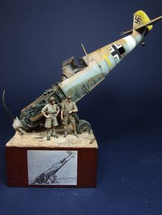 by Gustavo Gonzàlez Scale Models, Airfix Models, Modeling Techniques, Model Maker, Military Modelling, Military Diorama, Tank Design, Fighter Aircraft, Ww2 Aircraft