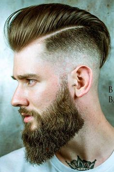 An undercut long hair look comes out dapper and bold. Besides, there are many ways to pull it off, such as a sidecut, bald fade with a hair design and others. Because we could not leave you without inspiration, we have compiled this collection. #menshaircuts #menshairstyles #undercut #undercutmen #undercutlonghair #longhairundercut Long Undercut Men, Tapered Undercut, Undercut Styles, Undercut Fade, Undercut Designs, Undercut Hairstyles, Bald Fade, Haircuts For Men, Hair Designs