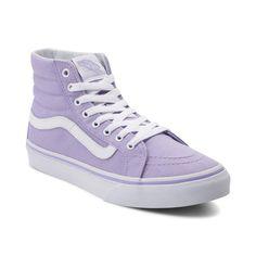 vans authentic purple ombre shoe