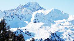 Forschung zum Schutz vor Lawinen: Schneebrettanbrüche in der Folge der intensiven Schneefälle 2017 - Blick von den Feldringer-Böden in Richtung Acherkogel. ©Peter Hoeller