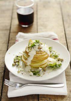 Pear Roquefort Salad from @Michael Lewicki