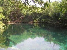Cenote Xcacelito.