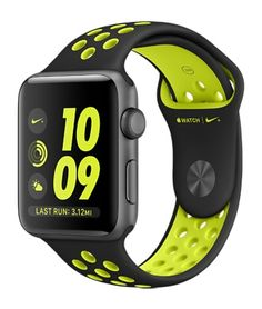 Apple Watch Series 2 Apple Watch Nike+ Space Gray Aluminum Case with Black/Volt Nike Sport Band