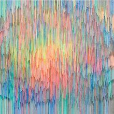 Joan Saló. Untitled pen on canvas 200x200 cm. 2010