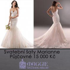 Svatební šaty Marianne. K dostání v salonu Maggie  #svatebnisaty #svatba #svatby #svatebnisalon #svatebnistudio #saty  #MaggieSottero #nevesta #satypronevestu http://1-svatebni-saty.cz