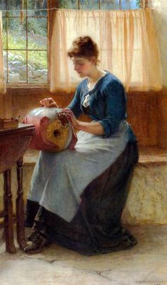 The Lacemaker - William Harris Weatherhead