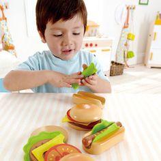 Hamburgers & HotDogs   Hape Toys