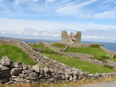 """Norman Period Granite Built Castle & Traditional Granite Stone Walls on Inis Oirr (Island) """"High Definition digital image"""" Granite Stone, Change Is Good, Digital Image, Norman, Monument Valley, I Can, Period, Ireland, Surfing"""