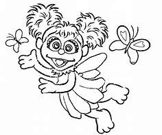 Abby Cadabby Coloring Page Bing Images Sesame Street Coloring