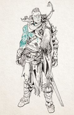 The Barbarian called Baldur. Mother to a newborn dragon…. a red dragon…