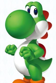 Yoshi from Super Mario Bros. Super Mario Bros is one of my favorite games. Super Mario Bros, Super Mario Party, Bolo Super Mario, Super Mario Birthday, Mario Birthday Party, Super Mario Brothers, Birthday Games, Super Smash Bros, Dinosaur Birthday