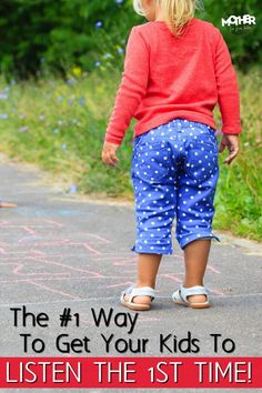 Do your children ignore your instructions or flat out refuse to obey? Here's how to change that. Great read for moms of toddlers and preschoolers.