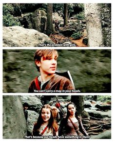 One of the best lines in a movie full of great lines--and this one was straight from the book! <-- edmund peeking out in the back XD chronicles of narnia prince caspian Harry Potter, Peter Pevensie, Lucy Pevensie, Percy Jackson, Prince Caspian, Cs Lewis, Chronicles Of Narnia, Book Tv, Nerd