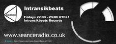 Lock in to the IntransikBeats Podcast Friday 22:00 UTC+1 on Seance Radio #Techno
