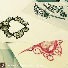 @Regrann_App from @andreaocchipinti_inkandmore -  #tattoo #flash #newtraditional #newtraditionaltattoo #ink - #regrann  #art #sketch #sketches #drawing #drawings #draw #art #artwork #artworks #pencilsketch #tattoosketch #creative #tattoodesign #inspiration #design #studio