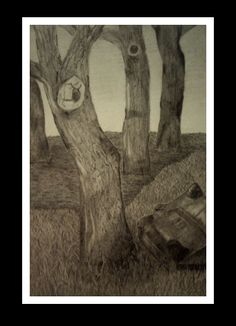 #Drawings; #Landscapes. By Shae Martinez. All rights reserved.