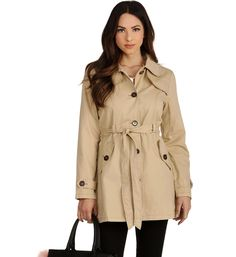 Khaki Urban Girl Trench from windsorstore.com ($39.90)