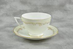 Minton Fine Bone China Cup & Saucer Felicity by TreasuryShop