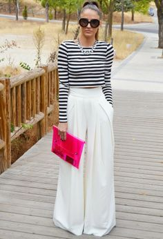 Street Scene Vintage: {How to Wear}: Palazzo Pants