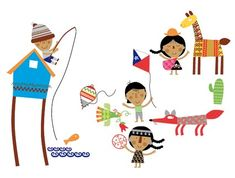 Cactus, Folk, Projects To Try, Illustration Art, Kids Rugs, Prints, Llamas, Characters, Block Prints