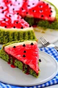Çok Nefis Karpuz Kek Tarifi – Sandviç tarifi – The Most Practical and Easy Recipes Melon Recipes, Raw Food Recipes, Cake Recipes, Köstliche Desserts, Delicious Desserts, Yummy Food, Watermelon Cake Recipe, Sour Cream Scones, Mousse Au Chocolat Torte