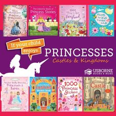 Have a princess? Feed her imagination with these books from Usborne! http://www.DaniellesBooks.com