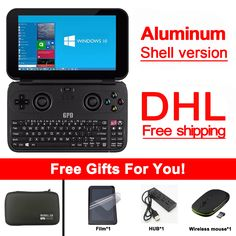 >> Click to Buy << New version Original GPD Win Gamepad Tablet PC Handheld Game Console X7 Z8750 Windows Bluetooth 4.1 4GB/64GB Gamepad Game Player #Affiliate
