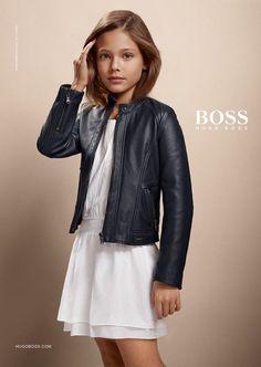 Esta niña de 11 años ya es una modelo profesional