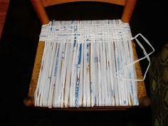 plarn chair seat