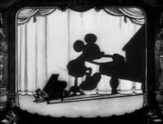 1930s 30s 1931 Blue Rhythm mickey mouse gif