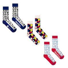 Love the Mondrian style socks