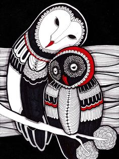 owl everything from owl designs to owl art the owls are here for you. owl be watching Arte Inuit, Inuit Art, Native Art, Native American Art, Owl Art, Bird Art, Owl Illustration, Illustrations, Owl Always Love You