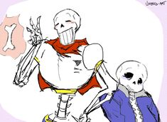 Undertale Papyrus and Sans