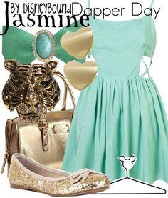Dapper Day: Jasmine (Aladdin)