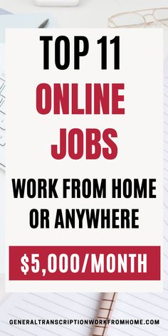 Top 12 Online Jobs - Work from Home or Anywhere - Work from Home Jobs, Online Jobs & Side Hustles Start A Business From Home, Work From Home Moms, Starting A Business, Online Business, Make Money Fast, Make Money From Home, Make Money Online, News Online, Online Jobs