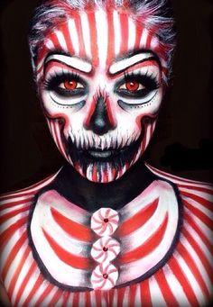 Sfx Makeup, Costume Makeup, Christmas Makeup Look, Beautiful Ruins, Evil Clowns, Winter Makeup, Fantasy Makeup, Aqua Color, Makeup Inspiration