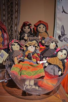 Our selection of handmade Peruvian dolls is now available in the TMC shop! Starting at $39.95
