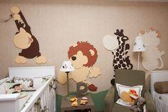Quarto de Bebê Safari by Ri-Pô-Pi - Decoração de Quartos de Bebês - Guia do Bebê