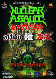 MUSIC EXTREME: EXCITER + NUCLEAR ASSAULT + OITAO + MORE IN BLACK ... #metal #exciter #nuclearassault #oitao