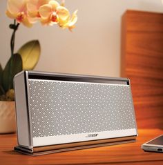 Bose BLUETOOTH Mobile speaker II, available in White for a limited time. Other colors too Best Portable Bluetooth Speaker, Waterproof Bluetooth Speaker, Bluetooth Speakers, Techno Gadgets, Technology Gadgets, Audio Design, Speaker Design, Home Goods Online, Mobile Speaker