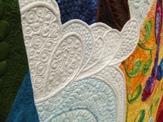 """wow"" You can say that again - This is some seriously beautiful quilting. S"