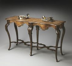 Butler Home Decor Console Table Finish Type - Moderate Old Spanish Mission Butler Specialty http://www.amazon.com/dp/B007NZKGIQ/ref=cm_sw_r_pi_dp_HtP0wb0JD2QAZ