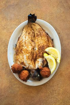 Broiled Rainbow Trout with Hush Puppies | SAVEUR