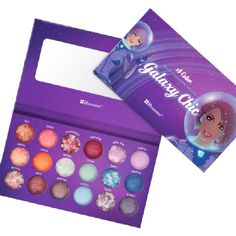 BH Cosmetic's Galaxy Chic Baked Eyeshadow Palette