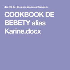 COOKBOOK DE BEBETY alias Karine.docx