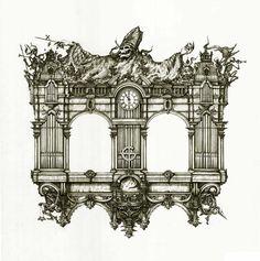 Organ - Ghost Infestissumam artwork: Zbigniew M. Bielak