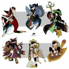 Ảnh Osomatsu-san ( List AUs) - Magical - Page 3 - Wattpad Character Concept, Character Design, Tales Of Berseria, Osomatsu San Doujinshi, Dark Anime Guys, Steampunk, Disney Shows, Kawaii, Ichimatsu