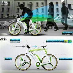 . دوچرخه تصفیه کننده هوا !  #طرح مفهومی دوچرخه تصفیه کننده هوا طرحی است که در آن دوچرخه ها می توانند آلودگی هوای شهرها را کاهش دهند. این دوچرخه دارای قابلیت تصفیه #هوا است که مجهز به یک فیلتر هوا و مولد اکسیژن است. در هنگام دوچرخه سواری فیلتر موجود در قسمت جلویی دوچرخه هوا را به درون خود می کشد و از فیلتر دی اکسیدکربن و گرد و غبار می گذراند و در نهایت هوای پاک را به بیرون می راند. بدنه دوچرخه نیز با هدف تولید هوای پاک تراز طریق سیستم فوتوسنتز دارای قابلیت تولید اکسیژن است. هنگامی که دوچرخه…
