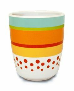How many times has your toddler lost this? SkipHop has an awesome line including this  favorite: the dishwasher safe Zoo Stripey Melamine Tumbler. Be sure not to leave it at Grandma's or you'll need an extra when you get home!